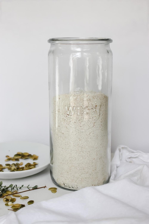 DIY Oat Flour