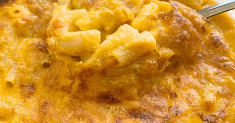 Creamy Butternut Macaroni & Cheese