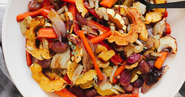 Fall Roasted Vegetable Salad