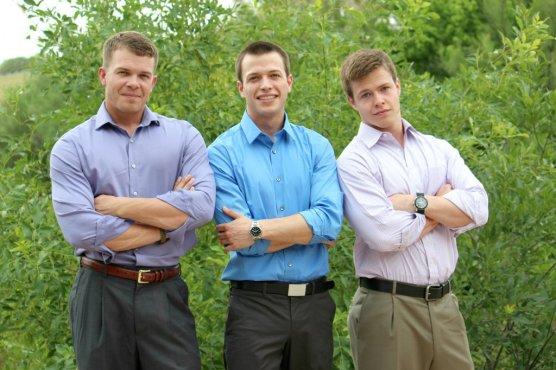 David, Adam & Peter