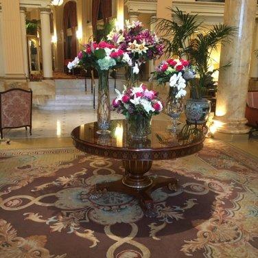Willard Hotel Lobbe
