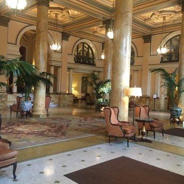 Willard Hotel Lobby
