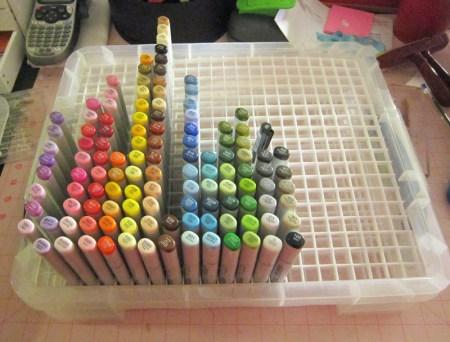 Copic Marker Storage Solution