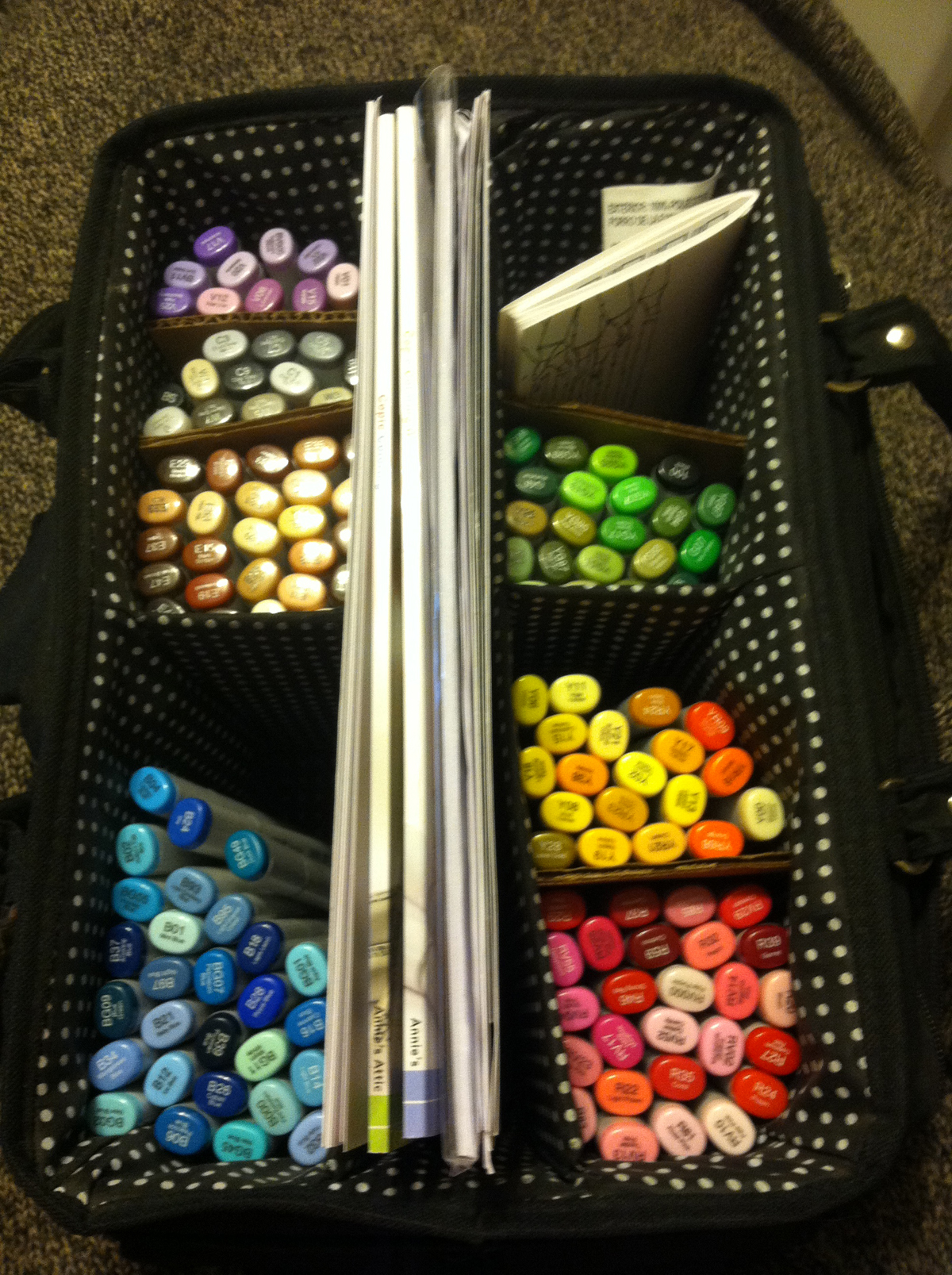 My New Copic Marker Storage Solution Kat S Adventures In