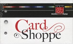 Bazzill card shoppe cardstock