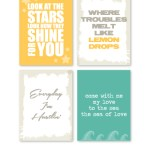 New Free Printables from Chic Tags!