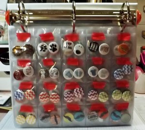 Flair Button Storage Binder