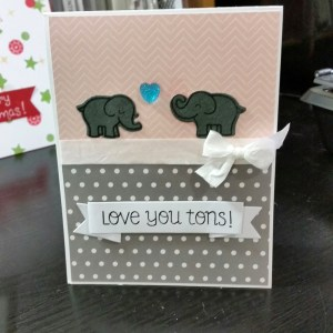 Love you Tons Card