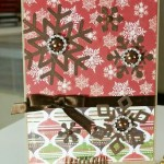 Snowflake Card – Lawn Fawn Snowflakes Die