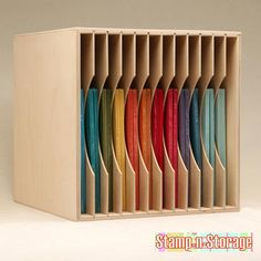 vertical paper storage & Scrapbooking: Vertical 12x12 Paper Storage Solutions - Katu0027s ...