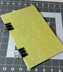 How to create a die cut booklet