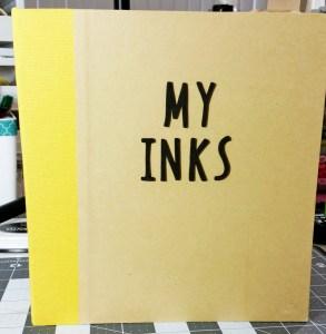 Kat's Ink Swatch Album