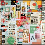 March Noel Mignon Scrapbooking Kit Reveal & Review
