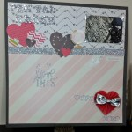 Pen Pal Crush – Scrapbook Layout Process Video