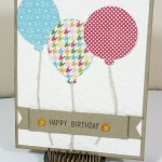 Birthday Bisque & Balloons :  Birthday Cards