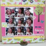The Many Faces of Montana:  A Scrapbooking Layout Process Video