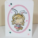 Easter Anya – Copic Coloring – Handmade Card