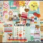 April Noel Mignon Scrapbooking Kit Reveal & Review