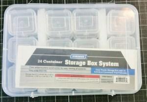 Sequin Storage Box Container