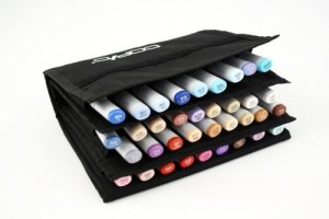 Zig Clean Color Real Brush Marker Storage Wallet