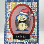 Another Crazy Bird Christmas Card – HO! HO! HO!