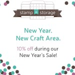 New Year's Sale at Stamp-n-Storage!