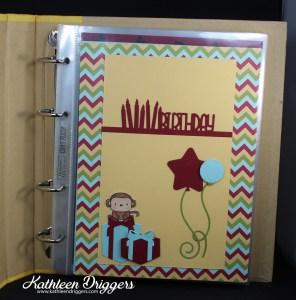 Kat's Birthday Calendar Book