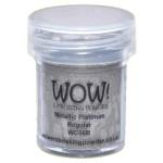wow metallic platinum embossing powder