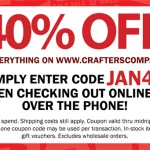 40% off Sale at  Crafter's Companion!