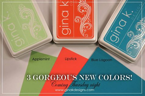 Gina K Designs New Colors