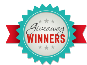 Kat's Giveaway Winners