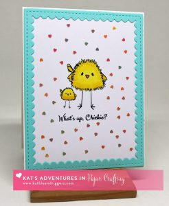 Chickie Card by Kat
