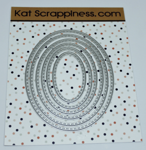 Kat Scrappiness Stitched Oval dies