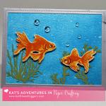 Kat's Goldfish Card