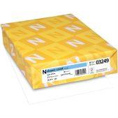 Neenah White Cardstock 110lb