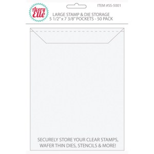 Large Stamp Storage Pockets