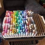 Kat's Raskog Copic Storage