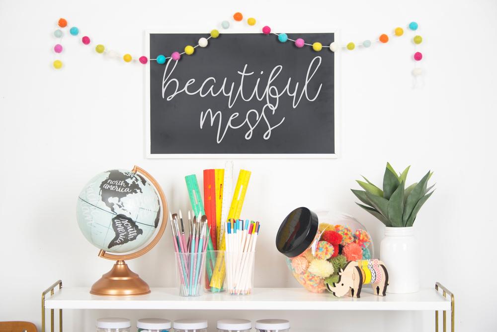 Kat's Craft Room Organizational Methods & Ideas