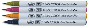 zig clean color real brush pens