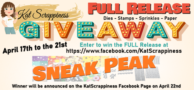 Kat Scrappiness.com giveaway and new release