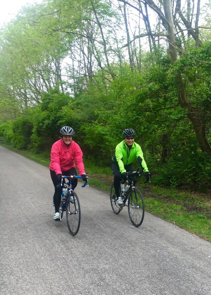 Riding in Indiana. April 2016