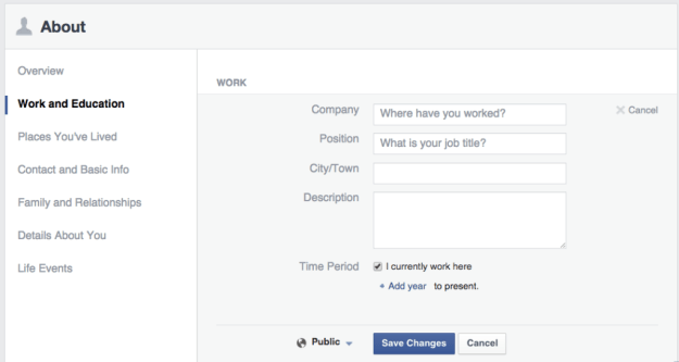 how to change name on profile fb page
