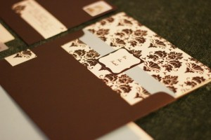 Wedding Reception Invite Card Cover