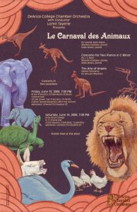 De Anza Chamber Orchestra Carnival of the Animals