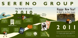 Sereno Group Mercury News New Year Ad