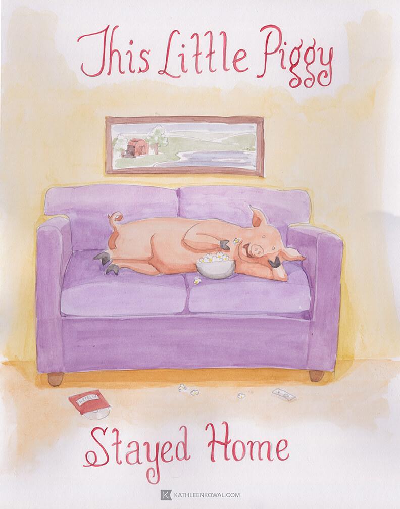 Little Piggies Panel 2 web