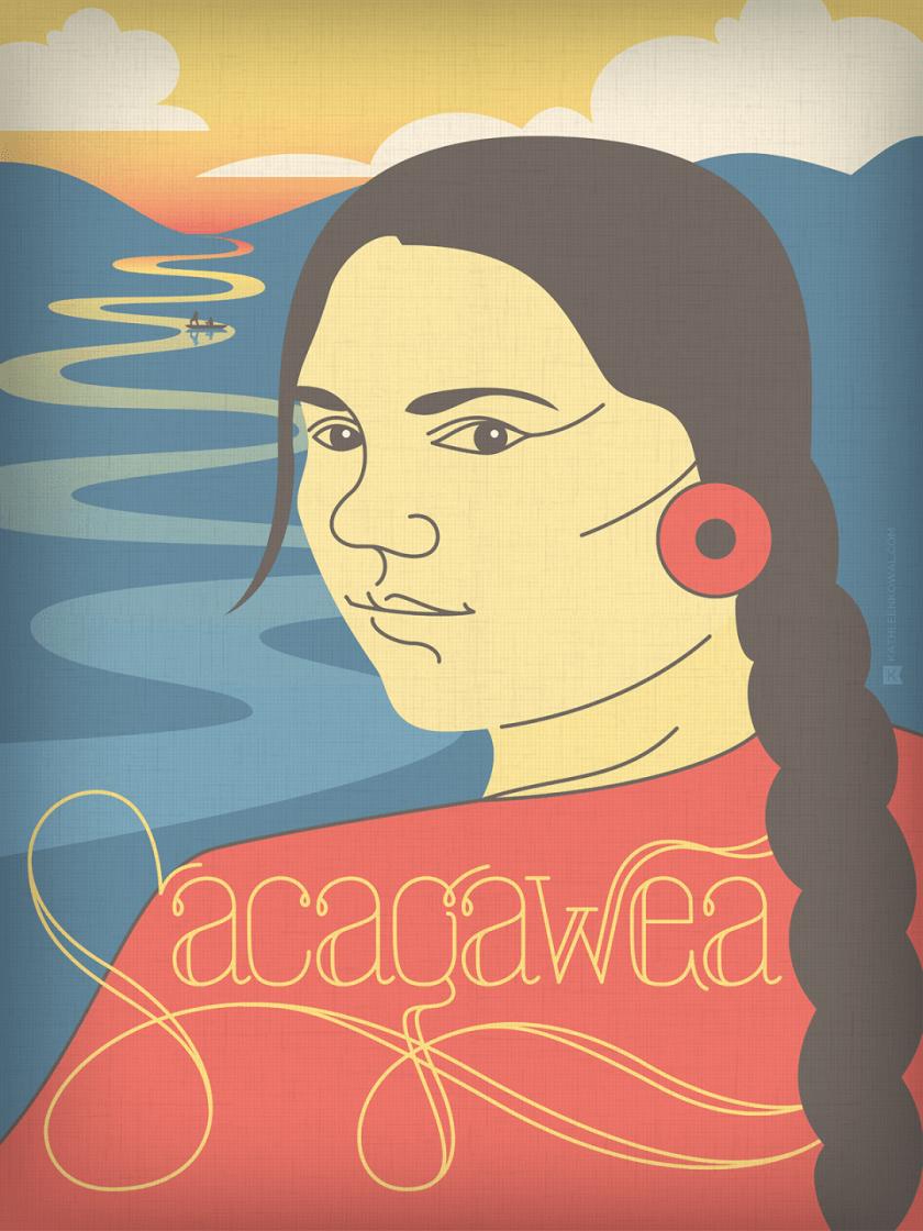 Kowal_Women-of-History_Sacagawea
