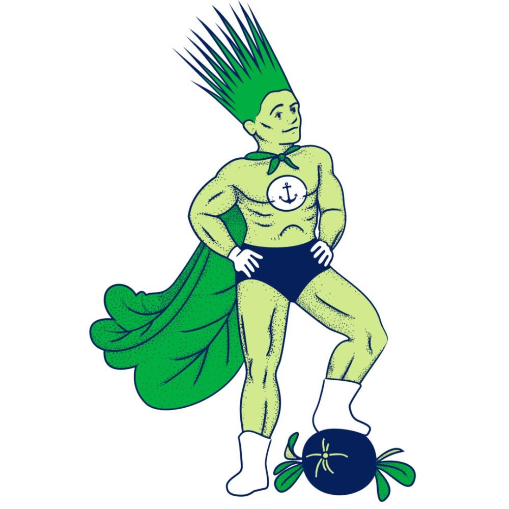 Health-Ade kombucha Super Greens Superhero