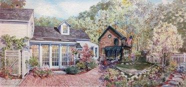 brick-patio-house-dog