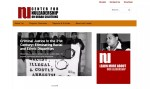 Screenshot of homepage of CNUS